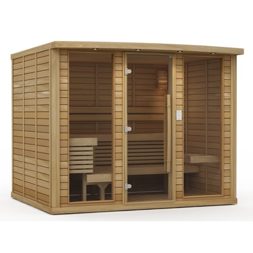 Premium Saunas Kensington 8 Person FAR Infrared Sauna by Saunas