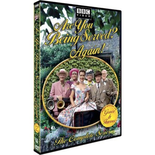 Are You Being Served? Again: The Complete Series Disc 1