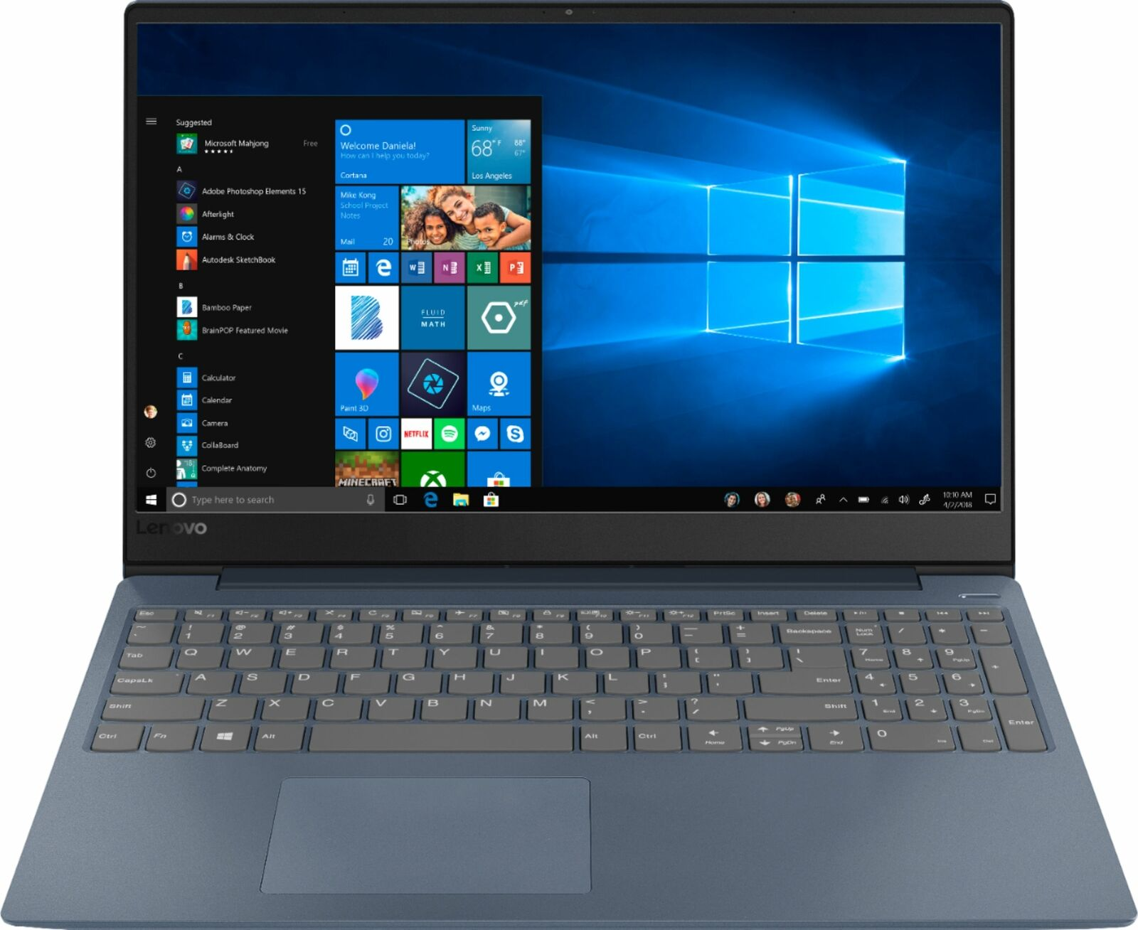 "Lenovo IdeaPad 330S 15.6"" Laptop (i3-8130U / 4GB / 128GB SSD)"