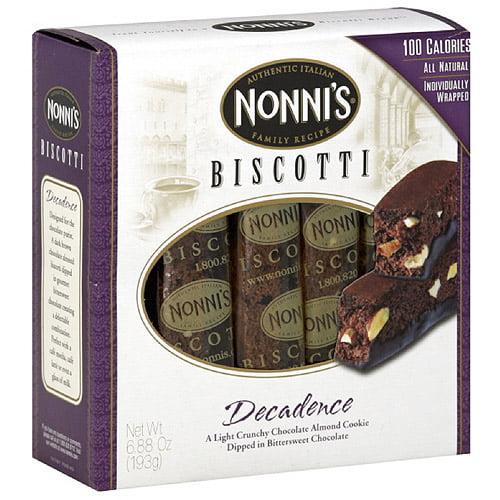 Nonni's Decadence Biscotti, 6.88 oz (Pack of 12) by Nonni's