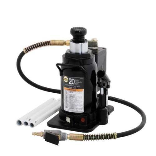 Omega 18205 20-Ton Air Bottle Jack with Cast Base