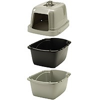 Van Ness Pureness Enclosed Sifting Cat Litter Pan
