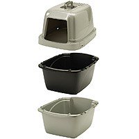 Van Ness Pureness Sifting Covered Cat Litter Box