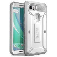 Google Pixel 2 XL Case, SUPCASE Full-Body Rugged Holster Case with Built-in Screen Protector for Google Pixel 2 XL 2017 Release, Unicorn Beetle PRO Series - Retail Package (Blue)