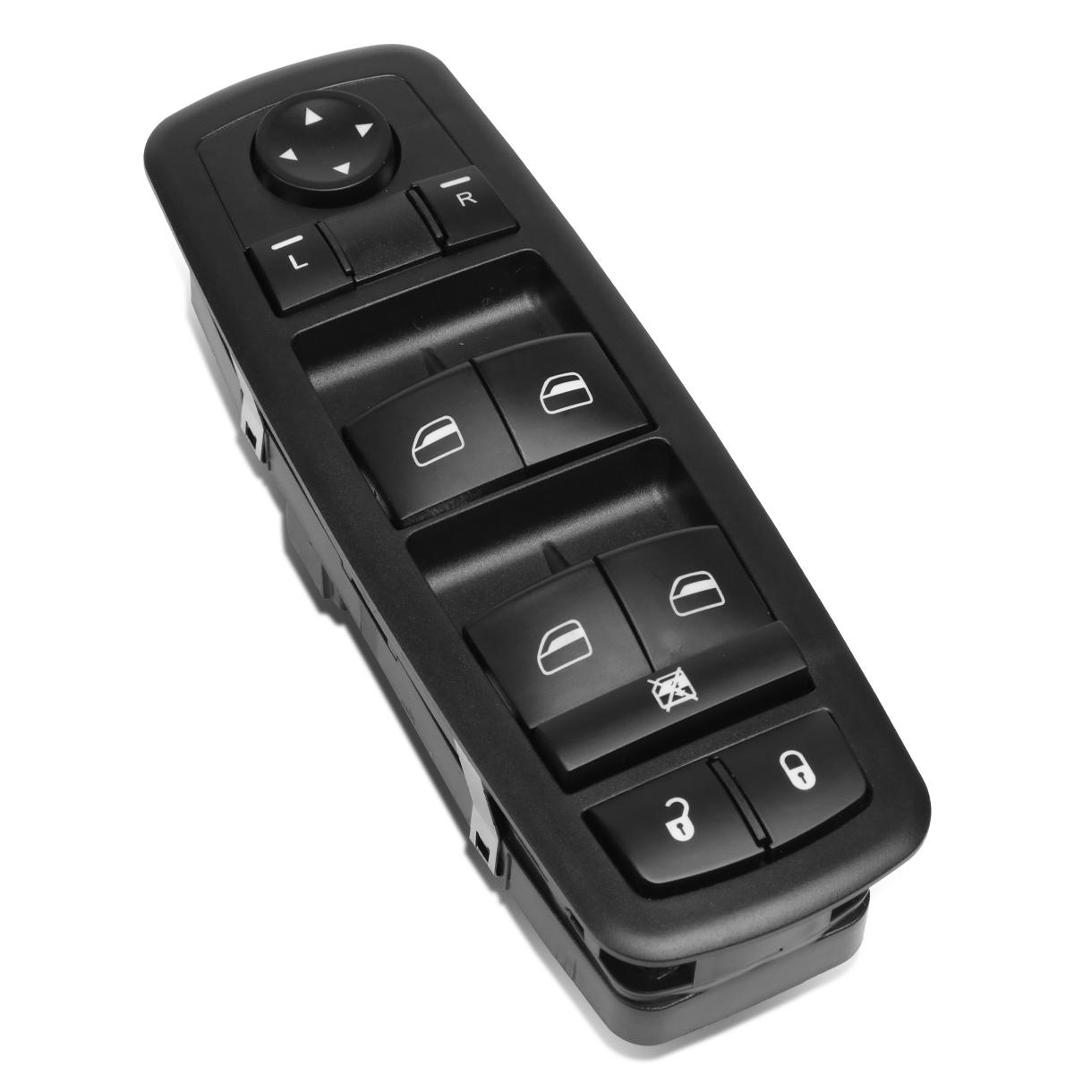 ZAPOSTS Master Power Window Switch for 2008-2012 Jeep Liberty /& Dodge Nitro 2009-2010 Dodge Journey 4602632AB 4602632AD 4602632AC Driver Side