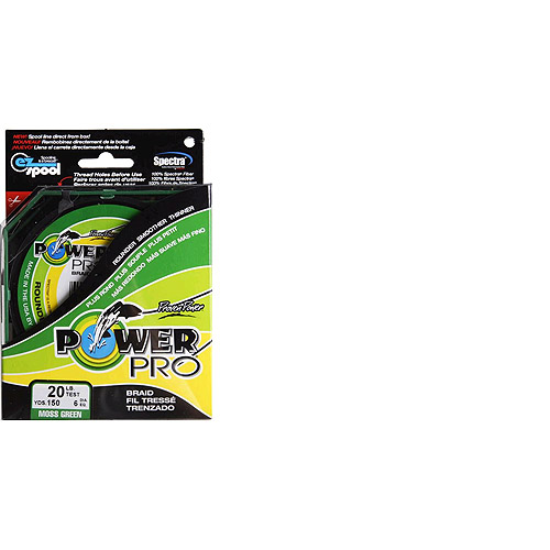 Power Pro Fishing Line - Moss Green, 150 yards, 20 lbs