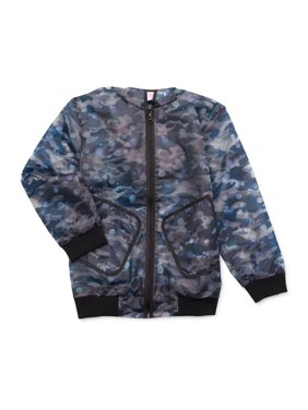 Wonder Nation Boys 4-18 & Husky Camo Print Rain Jacket