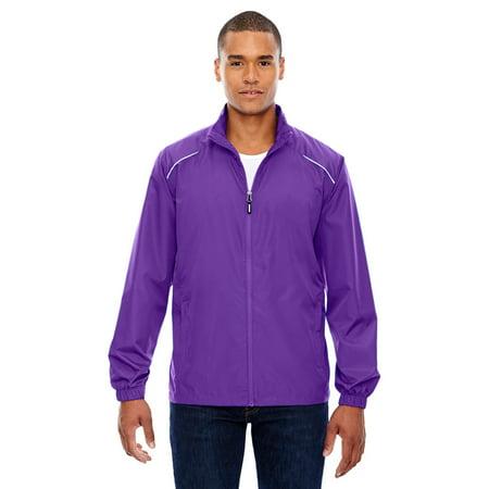 Ash City 88183 Men's Motivate Unlined Lightweight Jacket -Purple - Ash Kids Jacket