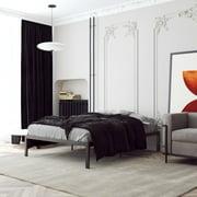 Signature Sleep Premium Modern Platform Bed, Metal, Black, Multiple Sizes - FULL