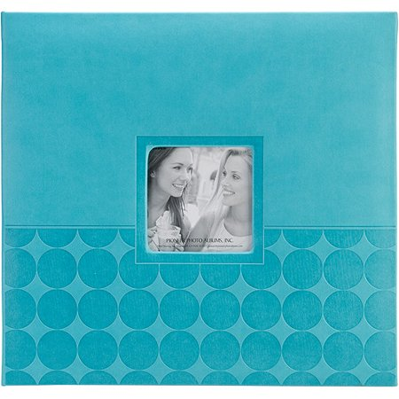 Embossed Post Bound Scrapbook Album, 12
