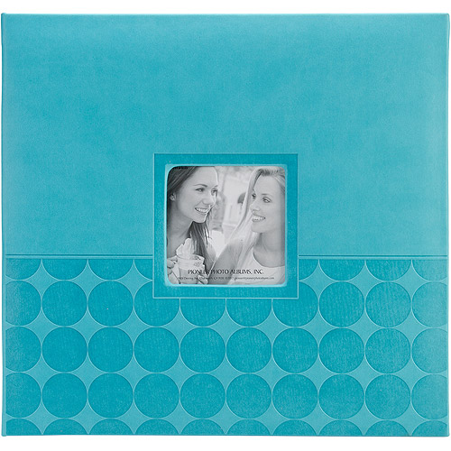 "Embossed Post Bound Scrapbook Album, 12"" x 12"""