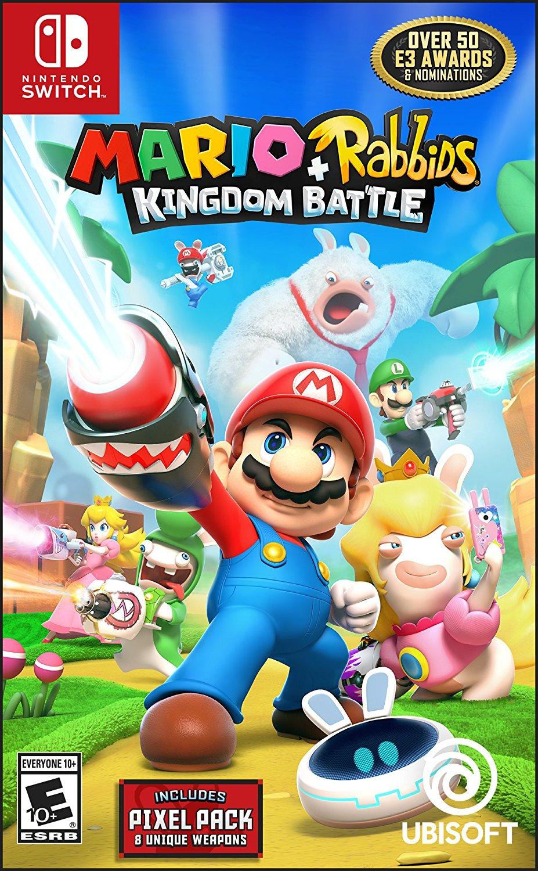 Mario + Rabbids Kingdom Battle Day 1 Edition (Nintendo Switch) by Ubisoft