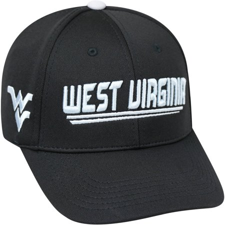 University Of West Virginia Mountaineers Black Baseball Cap
