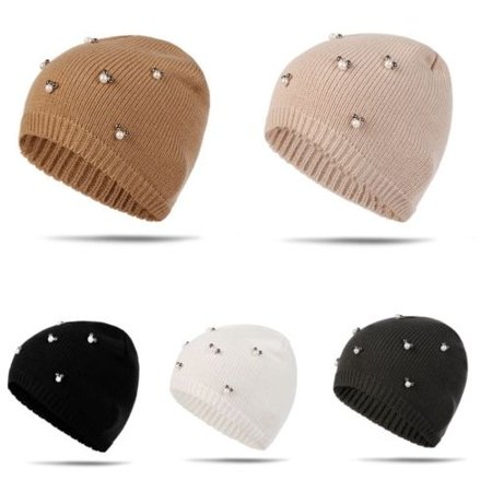 104cf81fde551e Fashion Beanie Plain Knit Hat Winter Warm Cuff Cap Slouchy Skull Ski Warm  Men Woman - Walmart.com