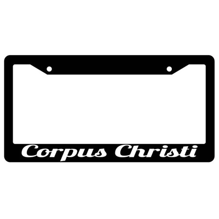 Corpus Christi Black Plastic License Plate Frame City State](Party City In Corpus Christi)