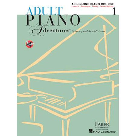 - Adult Piano Adventures All-In-One Lesson Book 1 : A Comprehensive Piano Course