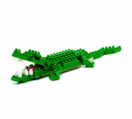 Nile Crocodile, A micro puzzle of a crocodile By Nanoblock by