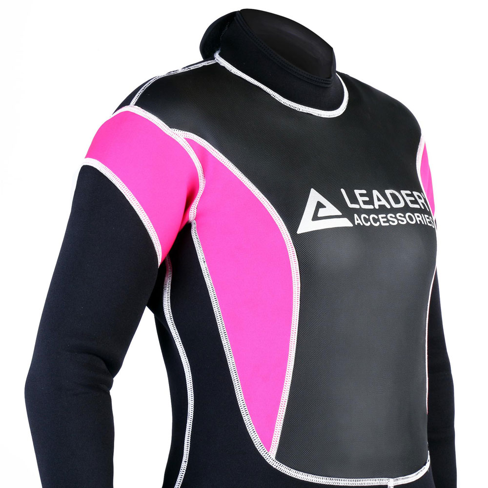 Leader Accessories Women s Wetsuit 2.5mm Black Pink Fullsuit Jumpsuit  Wetsuit - Walmart.com 812c408da