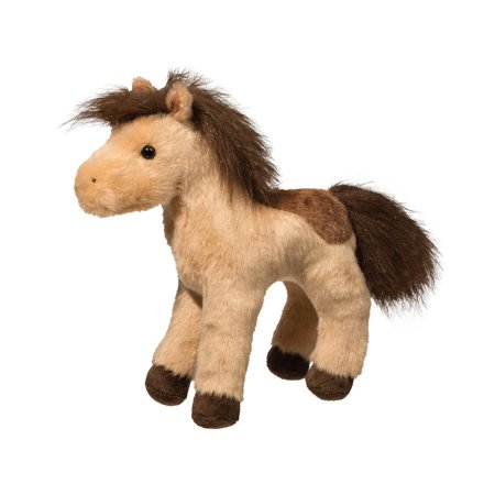 Toffee Spotted Horse 8 inch - Stuffed Animal by Douglas Cuddle Toys (4116)