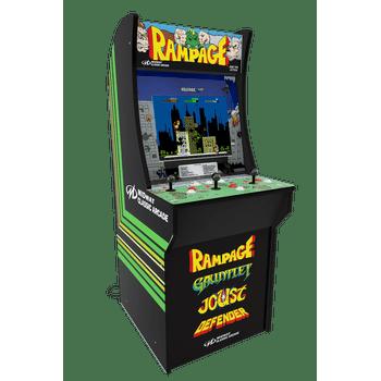 Arcade1UP: Rampage, Street Fighter, Asteroids, Centipede, Galaga
