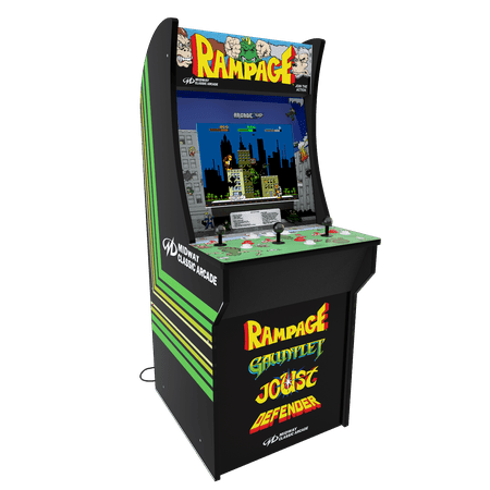 Swell Rampage Arcade Machine Arcade1Up 4Ft Walmart Com Download Free Architecture Designs Crovemadebymaigaardcom