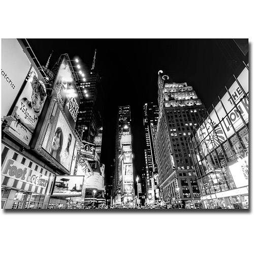 "Trademark Fine Art ""Time Square"" Canvas Wall Art by Ariane Moshayedi"