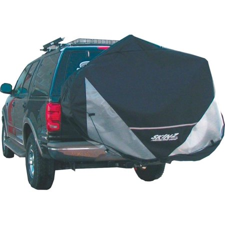 Skinz Hitch Rack Rear Transport Cover: Fits 1-2 Bikes~ Black~ - Skinz Snowmobile Cover