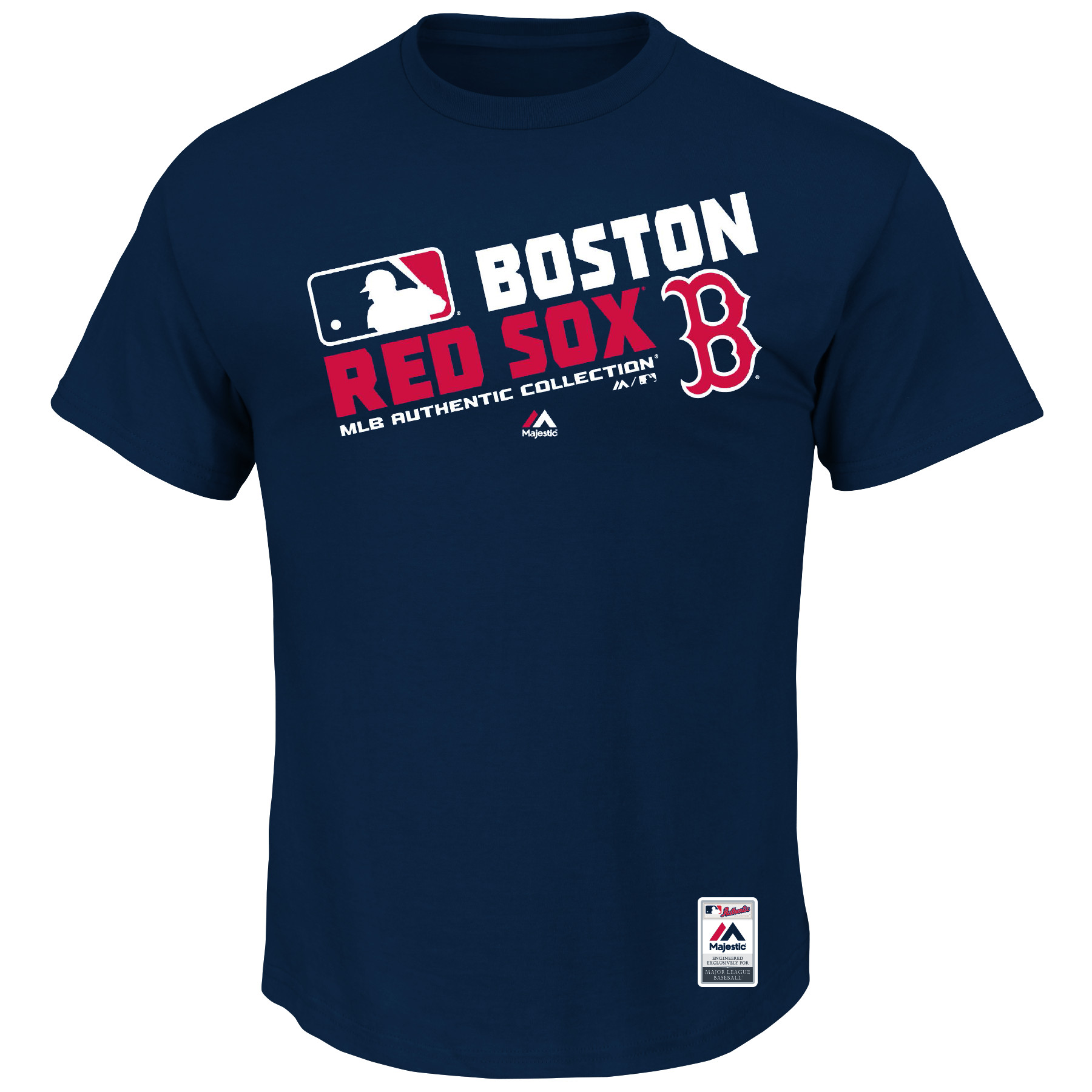 Boston Red Sox Majestic Team Choice T-Shirt - Navy