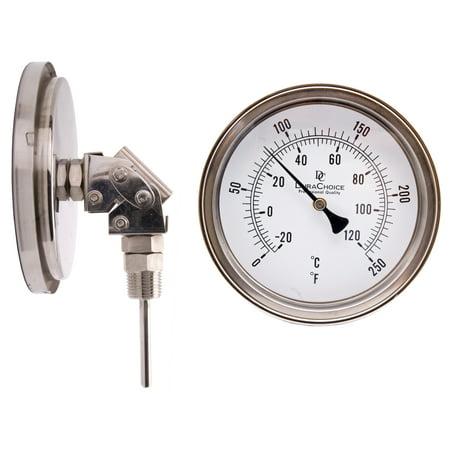 (Adjustable Industrial Bimetal Thermometer 5