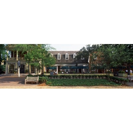 0c7837891e4 Shops at Merchants Square Duke of Gloucester Street Colonial Williamsburg  Williamsburg Virginia USA Stretched Canvas - Panoramic Images (6 x 18) -  Walmart. ...