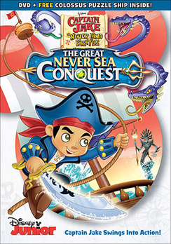 Captain Jake & the Never Land Pirates: The Great Never Sea Conquest (DVD) by Walt Disney Home Video