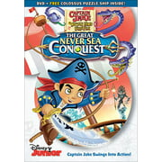Captain Jake & the Never Land Pirates: The Great Never Sea Conquest (DVD) (Jake And The Neverland Pirates T Shirt)