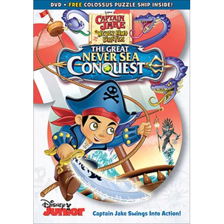 Captain Jake & the Never Land Pirates: The Great Never Sea Conquest (DVD)