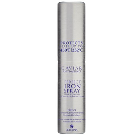 Alterna Caviar Anti-Aging Perfect Iron Spray - 4.1 oz - Pack of 1 with Sleek Comb