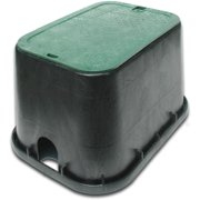 "NDS 113BC 12"" Standard Series Rectangular Valve Box"