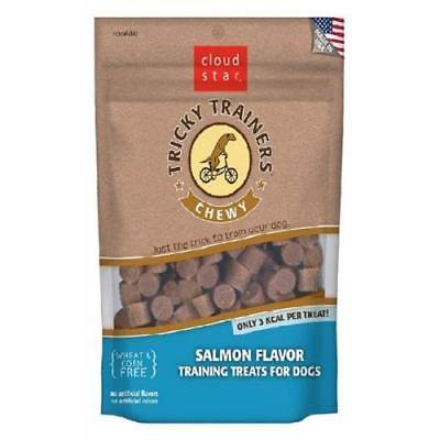 Chewy Salmon (Cloud Star Chewy Tricky Trainers Salmon Flavor Dog Training)