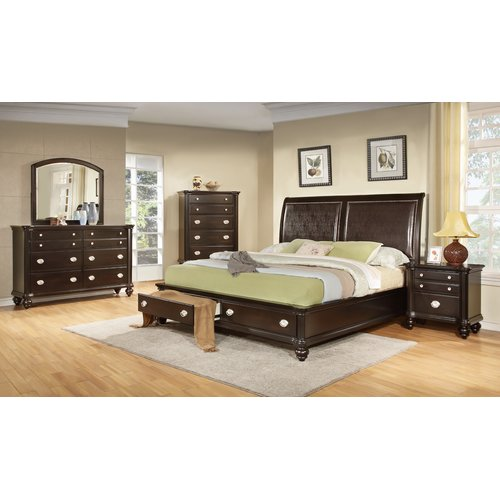 Darby Home Co Darci Upholstered Storage Sleigh Bed
