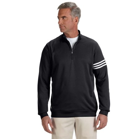 adidas Golf Men's climalite 3-Stripes Pullover - (Adidas Golf Mens Climalite 3 Stripes Tech Pant)