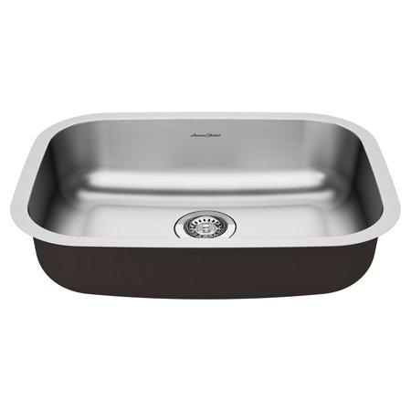 American Standard Portsmouth 23 X 18 ADA Single Bowl Kitchen Sink Stainless Steel