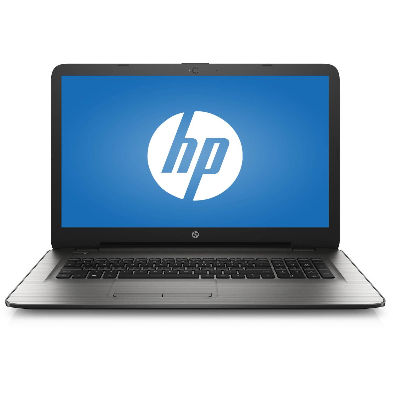 "HP Turbo Silver 17.3"" 17-x01nr Laptop PC with Intel Pentium N3710 Processor, 4GB Memory, 1TB Hard Drive and Windows 10 Home"