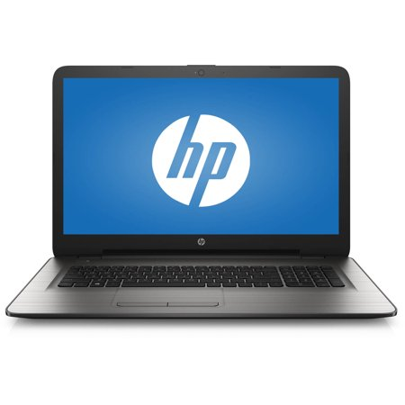 Hp Turbo Silver 17 3  17 X01nr Laptop Pc With Intel Pentium N3710 Processor  4Gb Memory  1Tb Hard Drive And Windows 10 Home