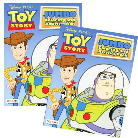Toy Story 96 pg Jumbo Coloring & Activity Book-1PC - Halloween Toy Story Coloring Pages