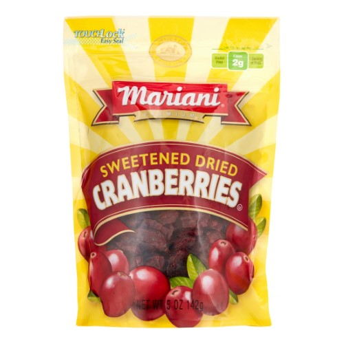 Mariani, Sweetened Dried Cranberries (Pack of 18)