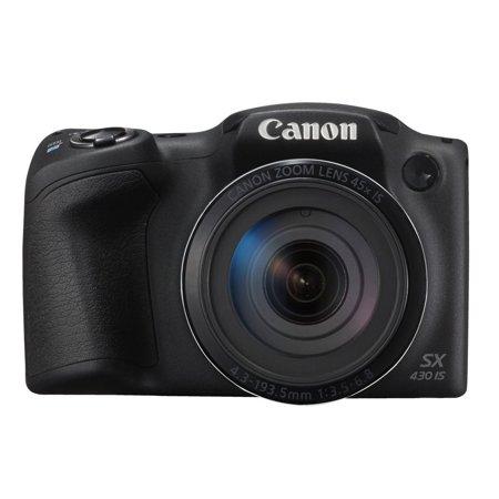 Canon PowerShot SX430 IS 20 MP Digital Camera Black