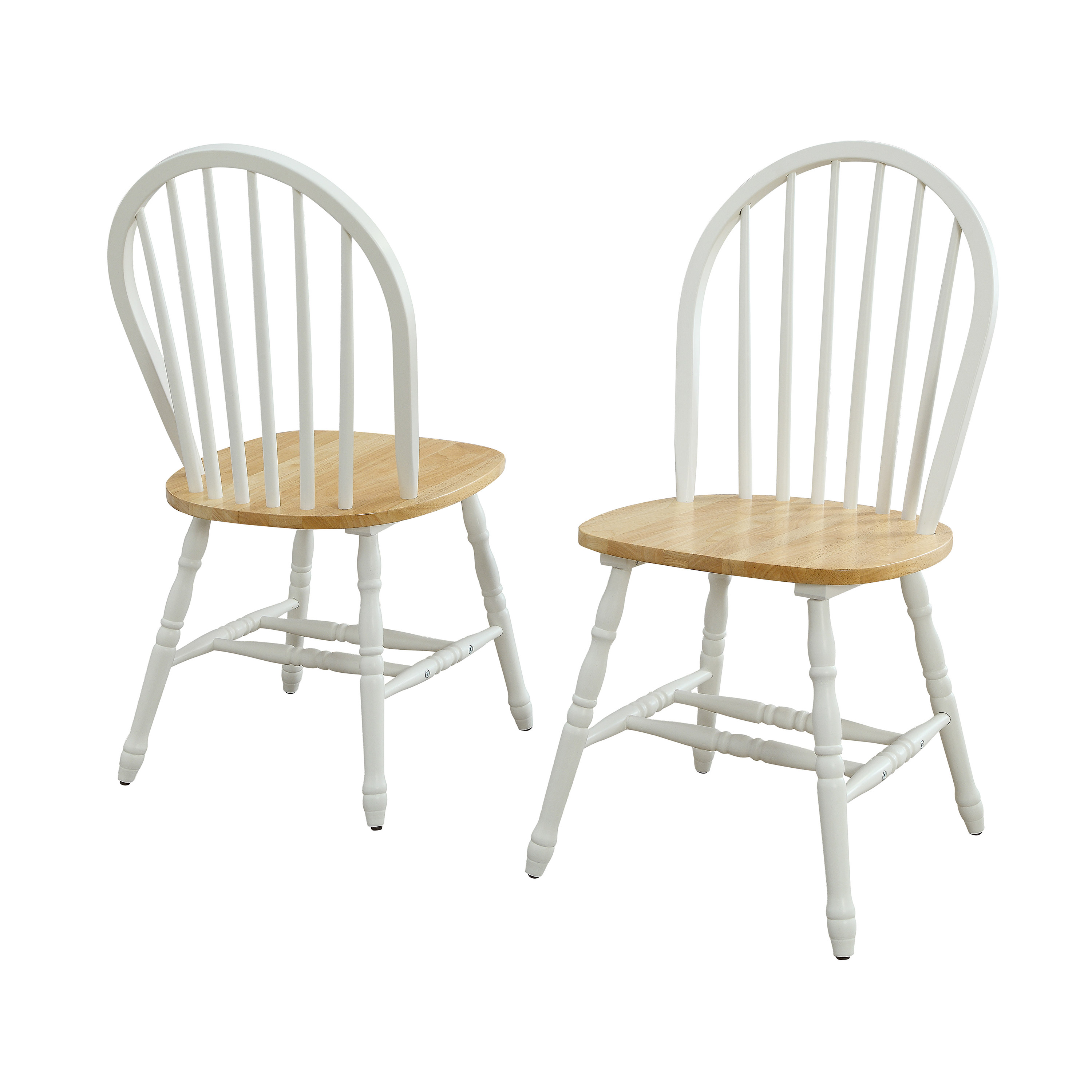 Better Homes & Gardens Autumn Lane Windsor Solid Wood Dining Chairs, Set of 2