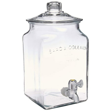 Anchor Hocking 93474 Dispenser with Spigot, 1.5 Gallon