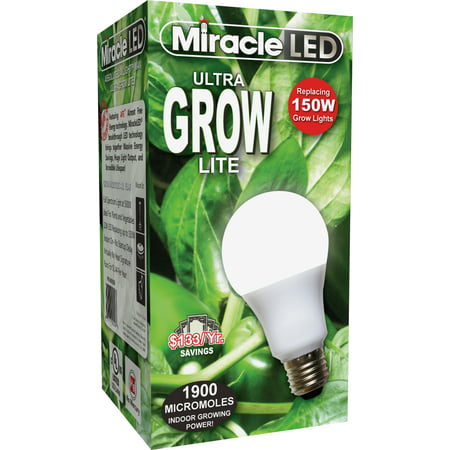 Miracle LED Ultra Grow Lite Replace 150W Full Spectrum Daylight