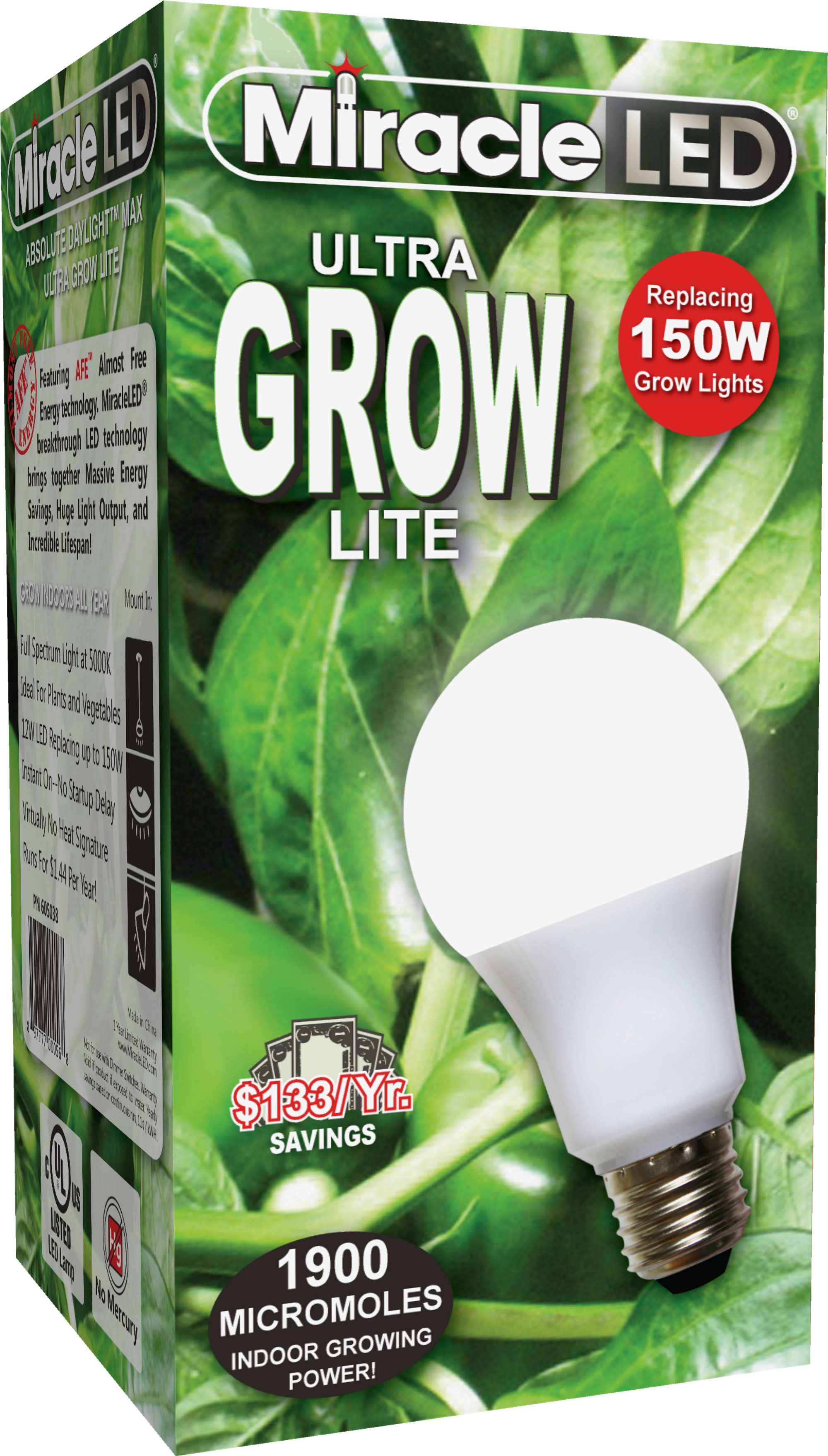 miracle led grow lite