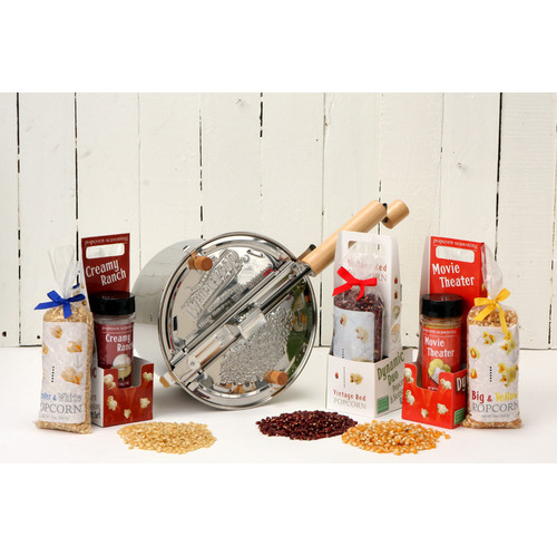 Wabash Valley Farms 192 Oz. Whirley 4 Piece Popper Set