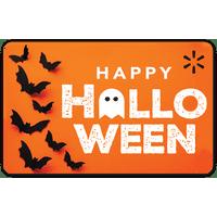 Halloween Bats Walmart Gift Card